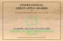 Nadleśnictwo Kaliska laureatem konkursu organizacji International Green Aplle Arwards